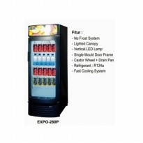 Display Cooler Beverage GEA EXPO 280P Standing 280Litre NO FROST