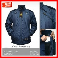 (Terbaru) Jaket Pria Harrington Parasut Waterproof Original Distro