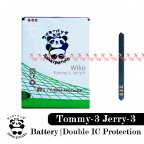 Baterai Wiko Tommy 3 W-K600 Jerry 3 Double IC Protection