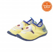 Minion Slip on Poly Shoes Boy Yellow Blue
