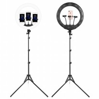 RL-18 Ring Light LED Combo Kit 3 Holder Video Photography