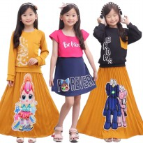 Fantasia Dress Anak 01 - Multicolor