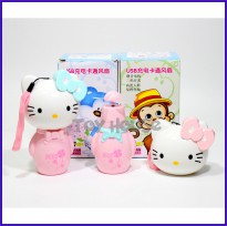 Kipas Angin USB - Mini Fan USB Hello Kitty - Kipas Angin Mini
