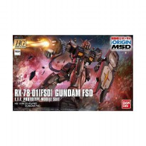 Bandai 25730 0481449 Gunpla Gundam HG 021 RX-78-01 FSD Model Kit [1:144]