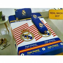 New Sprei Kintakun Deluxe Real Madrid 120X200 / Spf 327