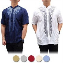 BAJU KOKO LENGAN PENDEK BUSANA MUSLIM KEMEJA ★ HIGH QUALITY COTTON SHIRT/M.L.XL/READY STOCK