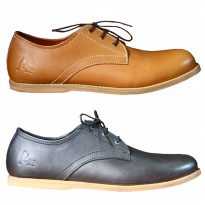 Genuine Leather Shoes / ROTT Shoes No.9 Collection / 2 Warna / Men's PREMIUM SHOES
