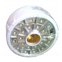 LUBY L-5612A LED 22 SMD Remote Energy-Saving Lamp + Fitting