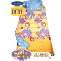 New Sprei Sofia Learned  California 120X200 / Spf 350