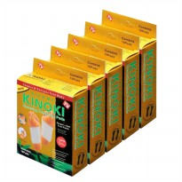 Kinoki Koyo Kaki Herbal Detox Foot Patch Gold - 5 Kotak isi 50pcs