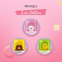 (POP UP AIA) BUY RP. 50,000 GET 15 PCS FACIAL MASK ( BIOAQUA LINE EDITION )