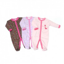 Jumper Bayi Next RICH Sleepsuit isi 3 Girl