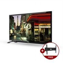 Sharp 40LE185i/40LE185 FHD LED TV [40 Inch/USB Movie] + Bracket TV + Free Delivery JABODETABEK