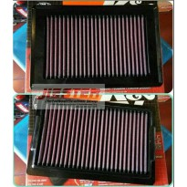 Filter Udara Yamaha V- Max 1700 09- K&N Replacement Filter YA1709
