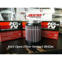 Open Filter Venturi 38 62mm K&N RU0800
