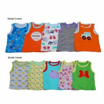 Wonderland Set Baby Singlet 5pcs