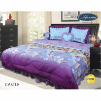 New Sprei California Sofia Castle 180X200 / Spf 462