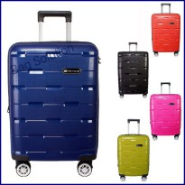 Navy Club Koper Hardcase PP Resleting Anti Tusuk 8008 - 24 Inch