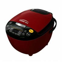 Promo Yong Ma Digital Rice Cooker 2L YMC211 - Red Ay5398
