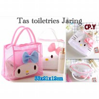 Tas Jaring Hello Kitty Toiletries