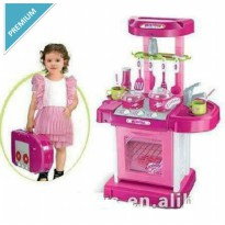 Alat Masak Mainan Anak / Kitchen Koper Set