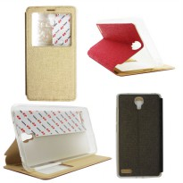 IMO Flip Cover Casing Xiaomi Redmi Note Leather Case Sarung Kulit - Original