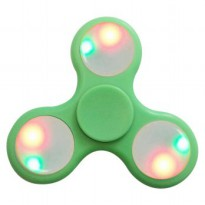 Fidget Spinner LED Light Controllable ON-OFF 3 Models Flash