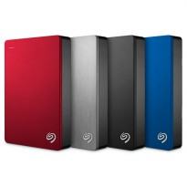 Seagate Backup Plus 5TB Portable Harddisk Eksternal + Pouch