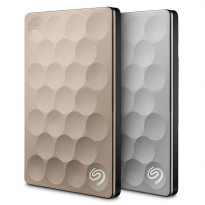 Seagate Backup Plus Ultra Slim 2TB Portable Harddisk Eksternal + Pouch