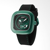 ODM Analog Jam Tangan Pria - Black Green DM043-08
