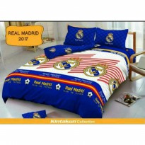 New Sprei Kintakun Deluxe Real Madrid 180X200 / Spf 569