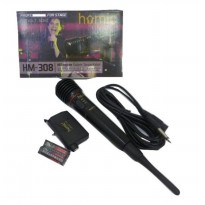 Homic Microphone / Mic Single Wireless HM-308 - Hitam