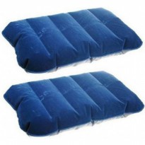[1+1]Buy1Get1 Inflatable PVC Neck Pillow High Rest - H0T019 / Bantal Angin