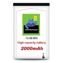 FA022 - Baterai Hippo Double Power Blackberry CX2 2000mAh For BB 8800