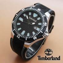 Timberland Rubber (Black Silver)