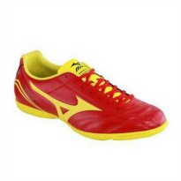 Mizuno Monarcida FS IN Sepatu Futsal - Red/Yellow