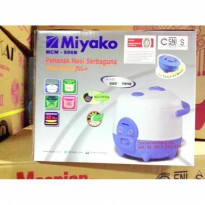 Promo Miyako MCM606B Magic Com Rice Cooker Mini Baru & Garansi Resmi Zn5368
