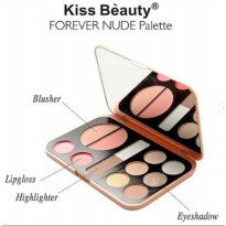 Kiss Beauty Forever Nude Pallete