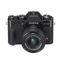 Fujifilm X-T20 Kit 15-45mm Kamera Mirrorless - Black