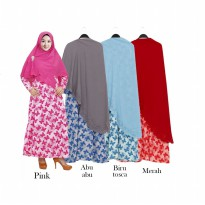 Gamis Syar'iMisby Hijab Wolfis Press GKS1548