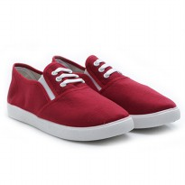 Dr.Kevin Ladies Slip-On Shoes 5309 Red