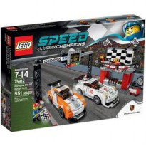 Lego 75912 Porsche 911 GT Finish Line Speed Champions