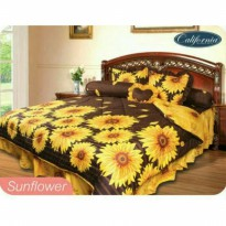 New Bed Cover California Sunflowers 180X200 / Spf 674