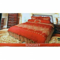 New Bed Cover California Songket 180X200 / Spf 675