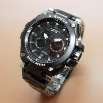 Jam Tangan Pria Rantai Fashion Double Time