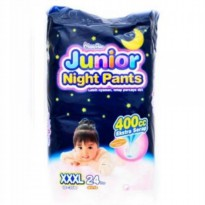 MamyPoko Junior Night Pants Girl XXXL 24 pcs