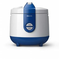 Order yuk Philips Rice Cooker HD3118 31- 2 liter - Putih Biru Fk1299