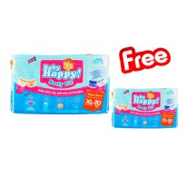Baby Happy XL 20 Popok (Buy 1 Get 1)