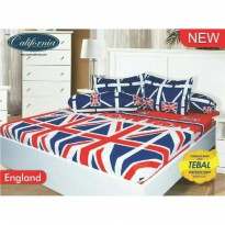 New Sprei California England 180X200/160X200 / Spf 689