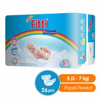 Fitti Tape Rainbow Value Pack S 26 Popok Bayi Fitti